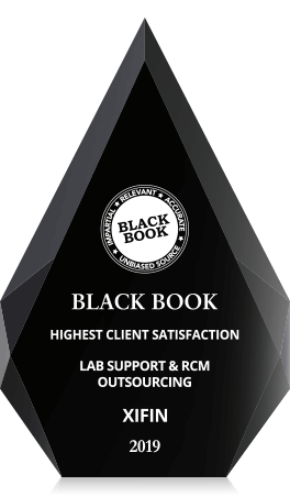 Black Book Award - 2019 #1 Client-Rated RCM