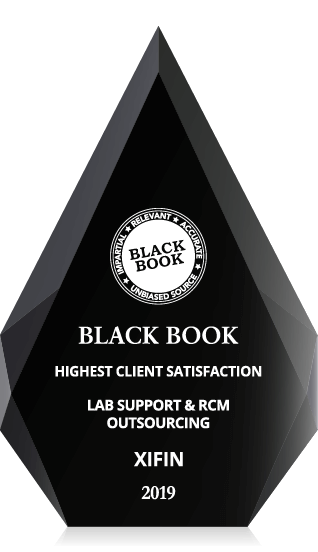 2019 Highest Client Satisfaction for Lab Support and RCM Outsourcing