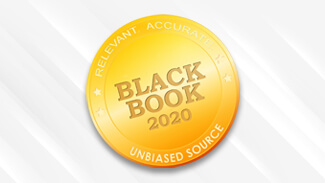 Black Book Award 2020 - Number 1 Client-Rated Revenue Cycle Management Solution