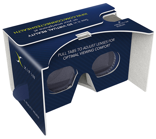 XIFIN Connected Health VR Viewer